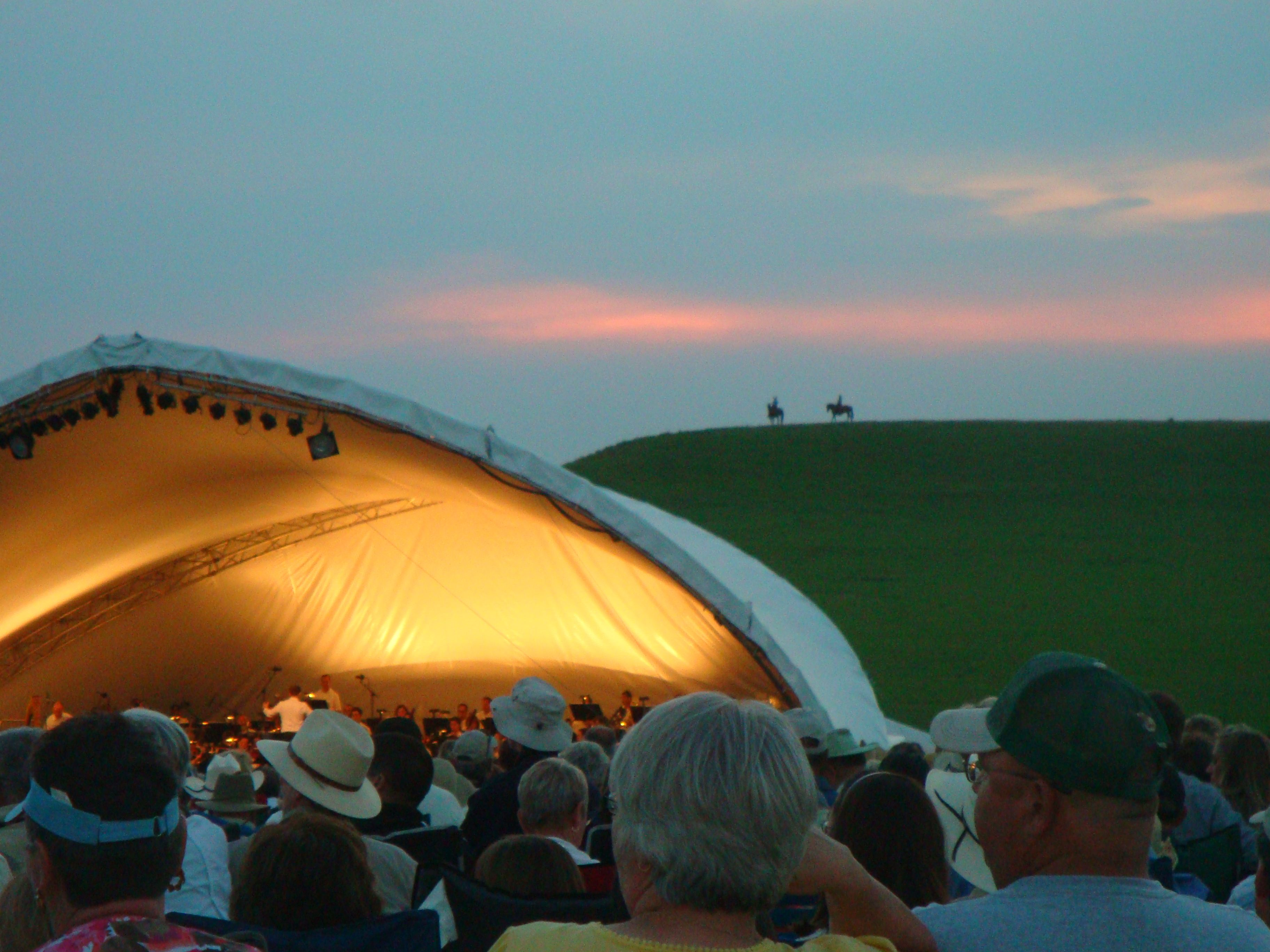Kansas City Symphony in the Flint Hills Kansas, Kansas