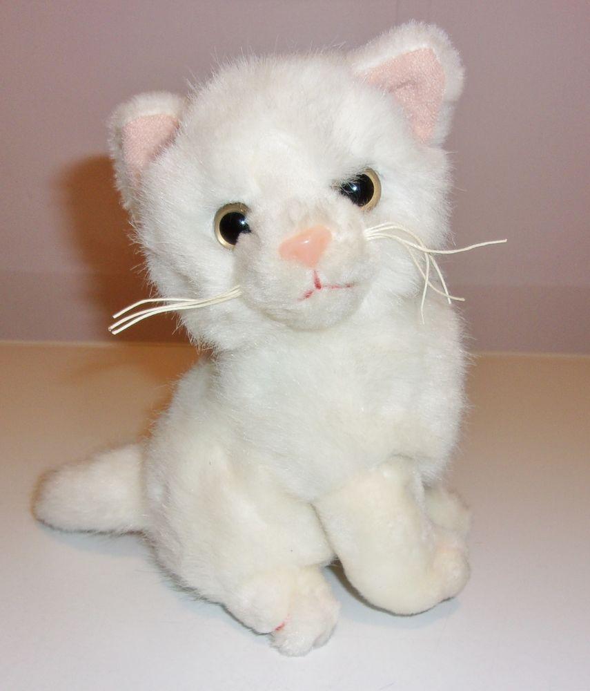 Image Result For White Vintage Plush Cat Toys Pinterest Plush