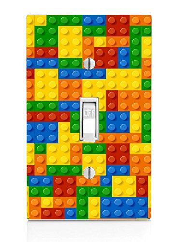 Colorful Bricks Design Print Image Light Switch Plate Be Sure To Check Out This Awesome