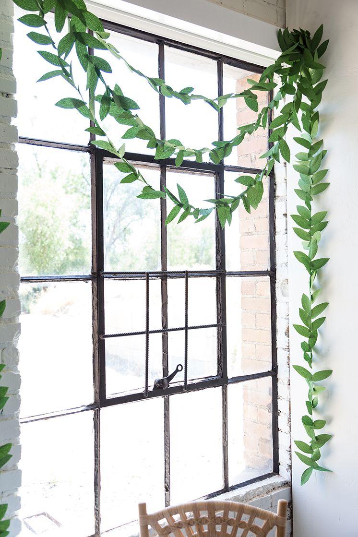 DIY paper leaf garland  Garlands Diy paper and Leaves