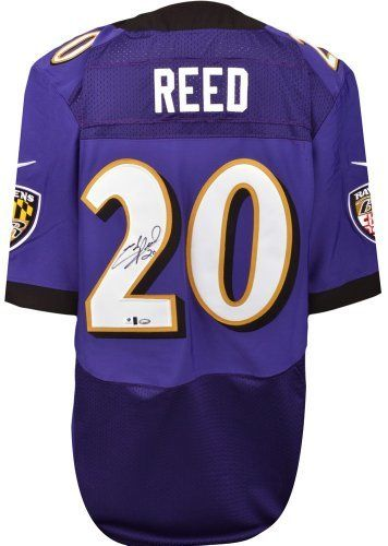 66b135421c4 Ed Reed Autographed Jersey - Nike - GA Certified - Autographed NFL Jerseys  by Sports Memorabilia