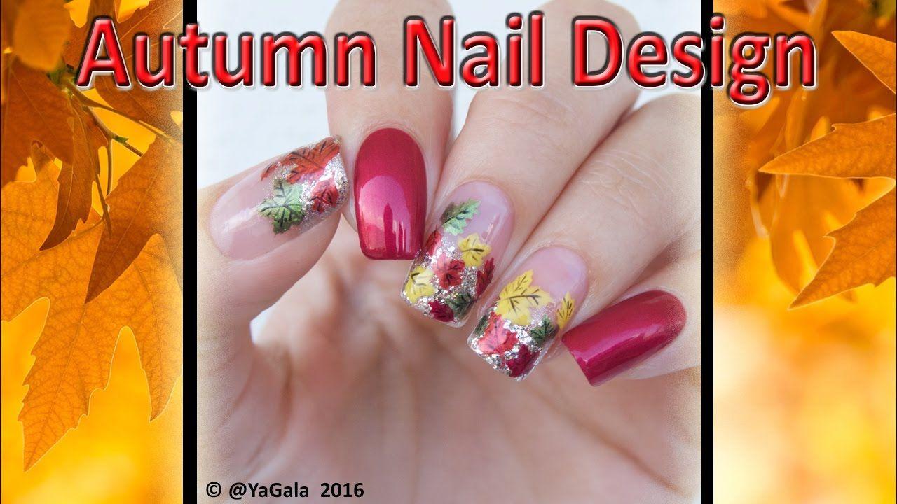 Autumn Nail Design / Осенний дизайн ногтей | Beauty | Pinterest ...