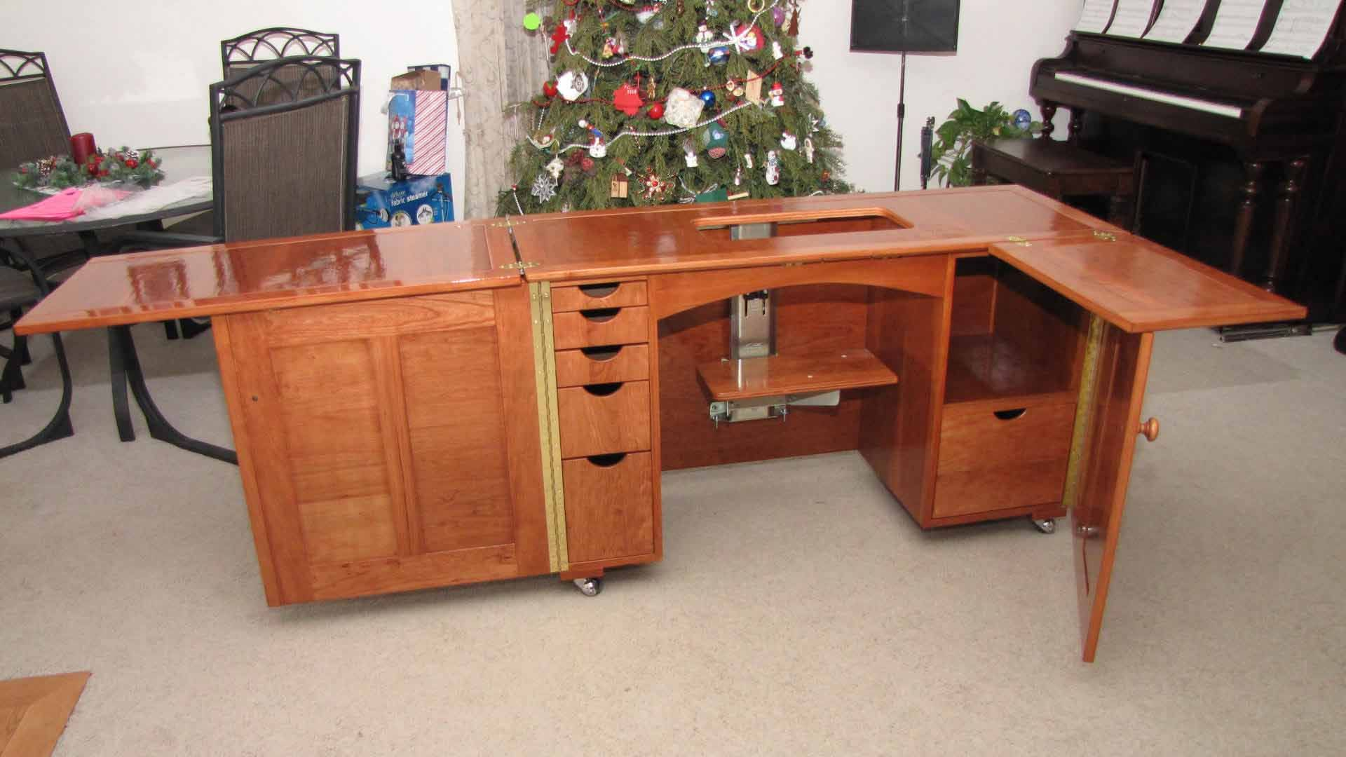 Plans To Build A Sewing Cabinet Product Review For Deluxe