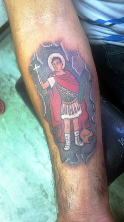 San Expedito Tatoo Tattoos Y Santos
