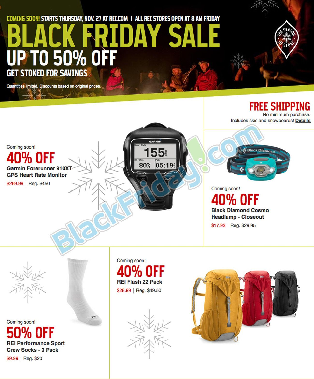 Rei Black Friday 2014 Preview Ad Page 1