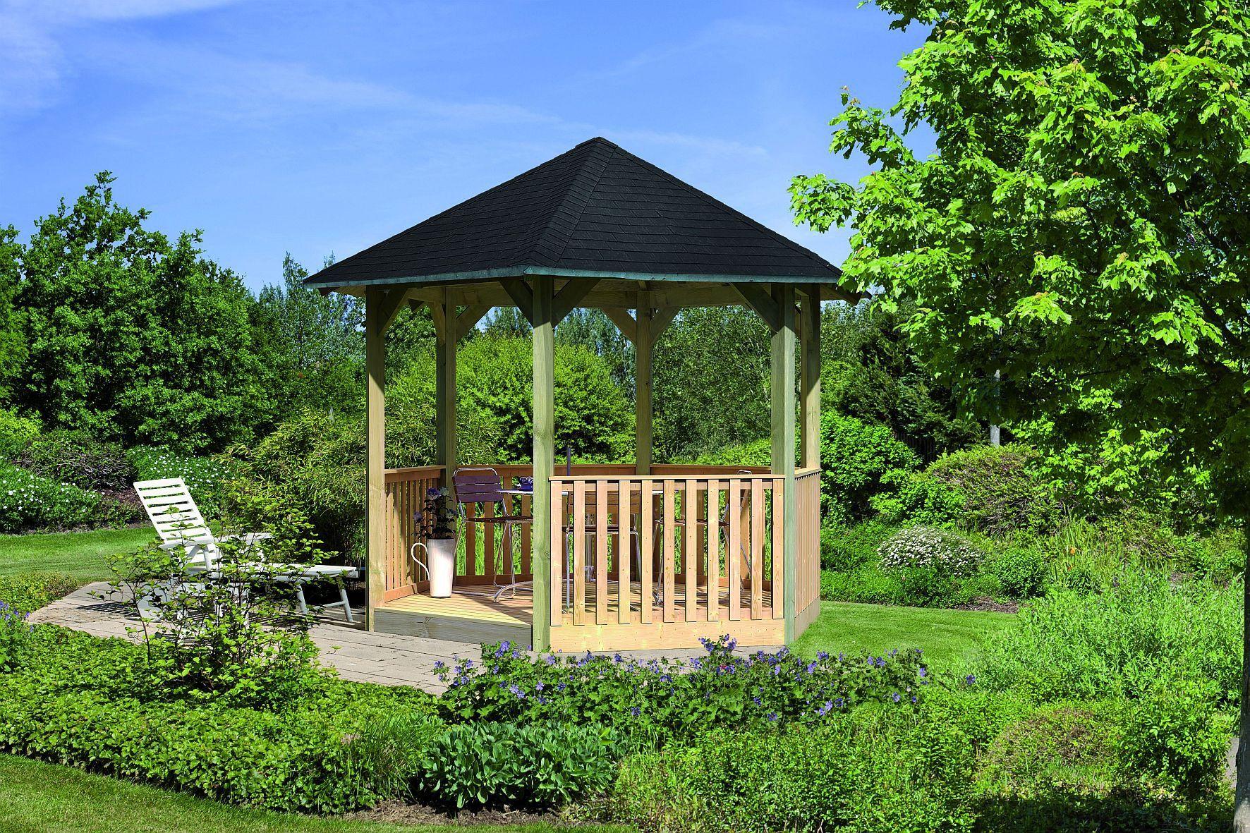 Profitez de ce Pavillon de jardin KIT MADRID idéal pour ...