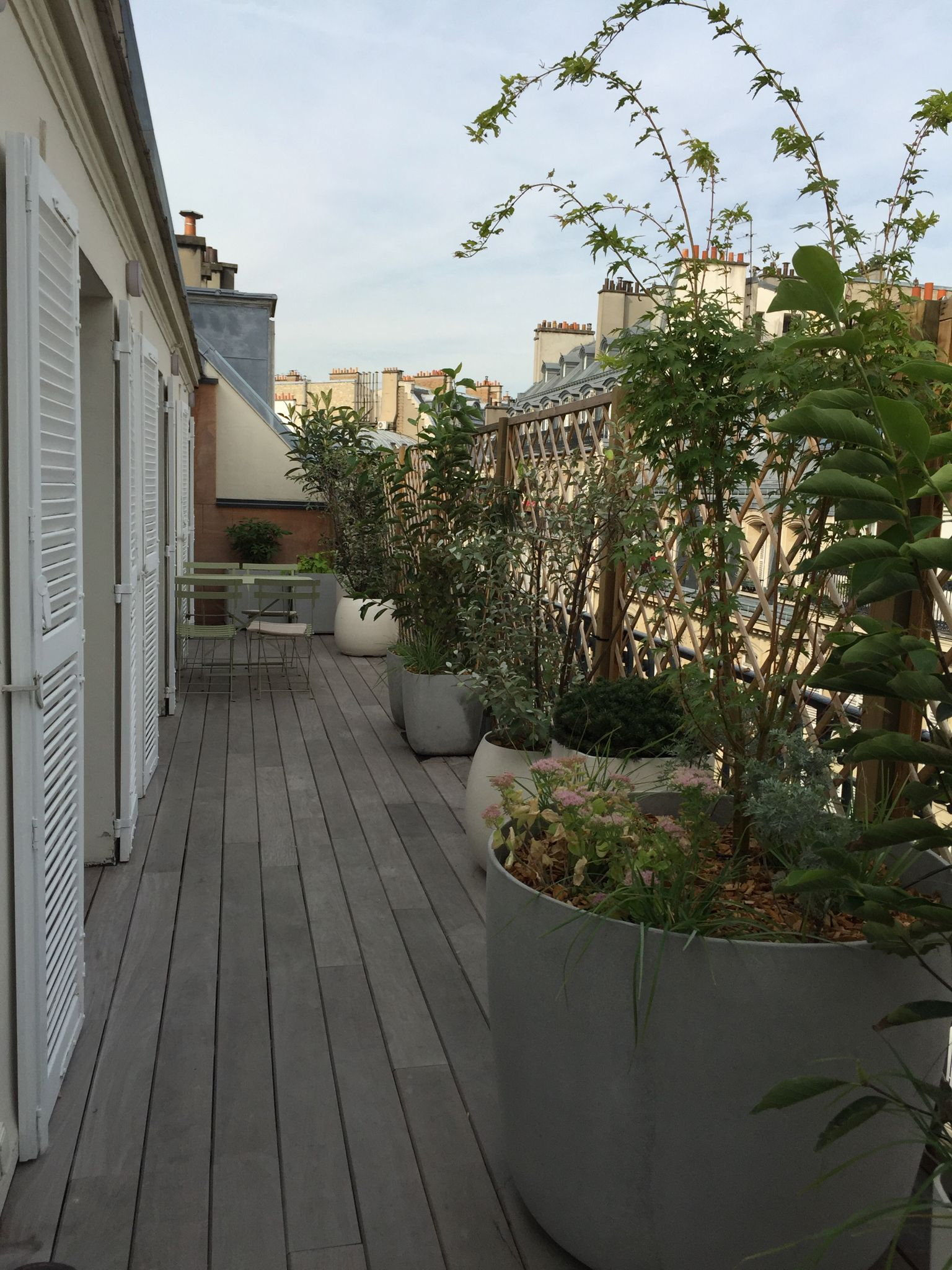 Amenager Une Terrasse En Longueur Comment Aménager Un Balcon Filant Parisien Ideas For The