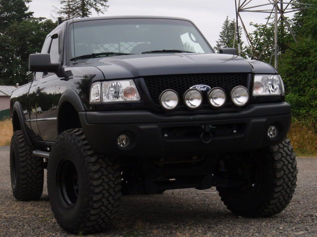 2000 Ford Ranger Black