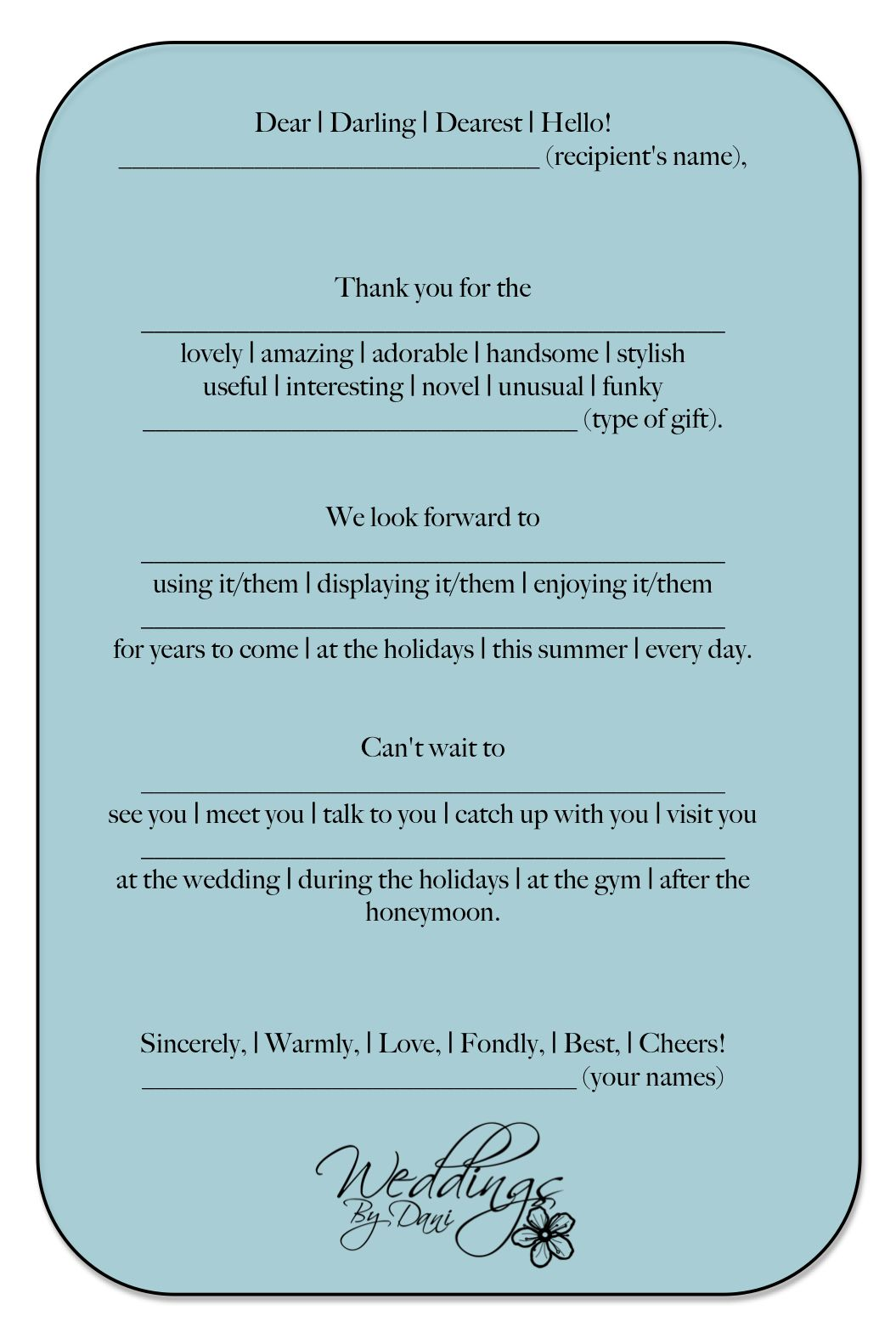 Wedding Thank You Cards Thank You Card Wording Wedding Thank You Cards Wording Wedding Thank You Cards