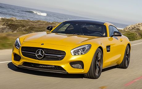 mercedes amg gt sports car launch los angeles nov 2014