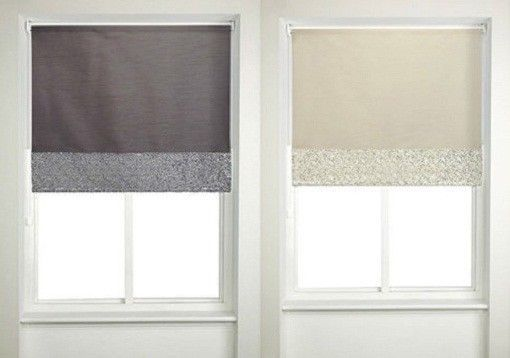 Details About Faux Silk Sequins Roller Blinds Different