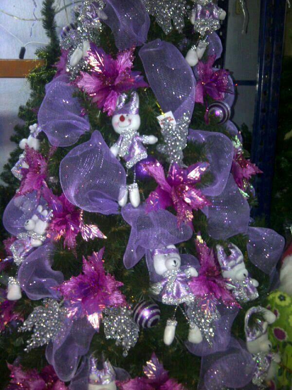 Resultado de imagen para arboles de navidad decorados con - Arboles de navidad decorados ...