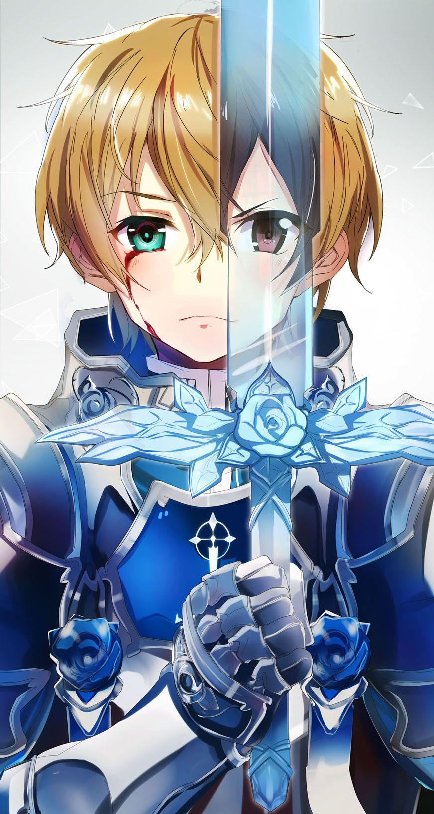 Pin By Setsuna Mira On Anime Picture Sword Art Online Wallpaper Sword Art Online Kirito Sword Art