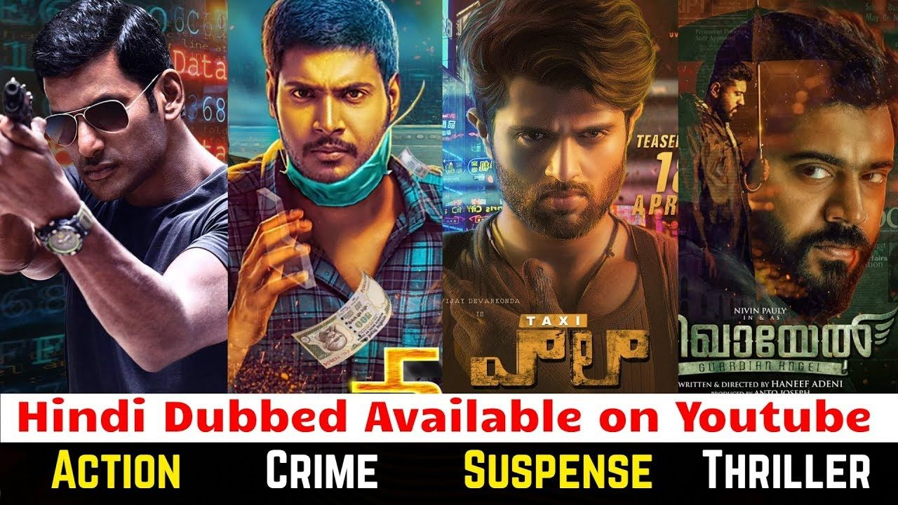 12 New Hindi Dubbed Suspense Crime Action Thriller South Movies Part 2 A Thriller Movies Thriller Suspense