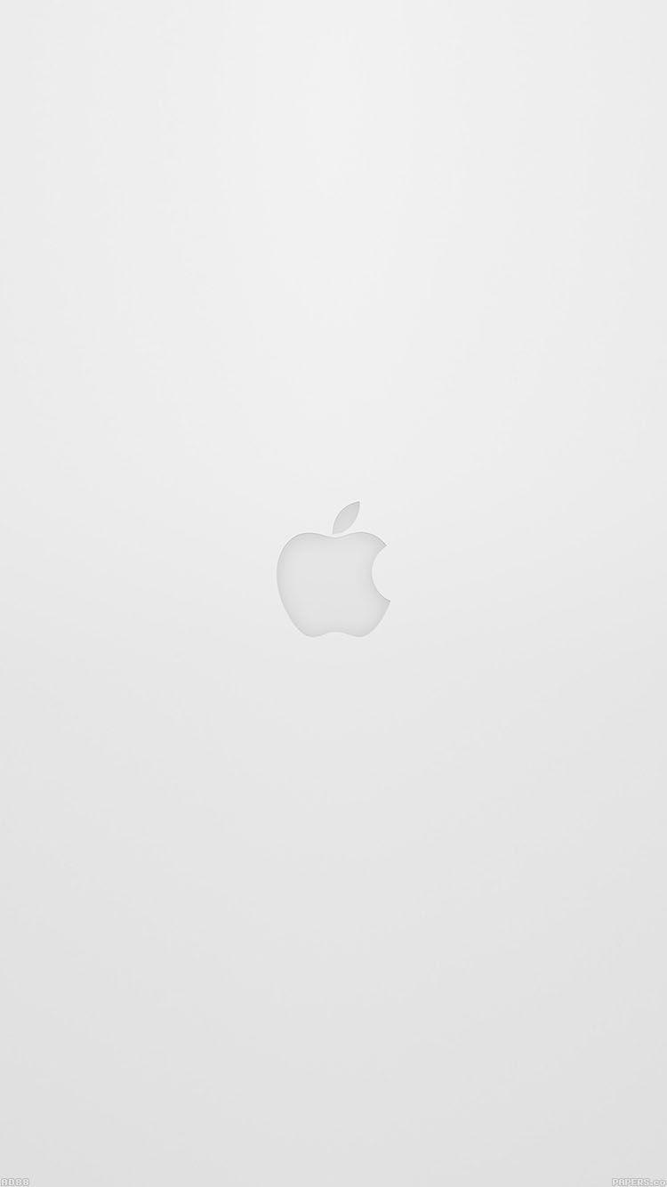 Apple Logo White Ios8 Iphone6 Wallpaper Hd Iphone Apple