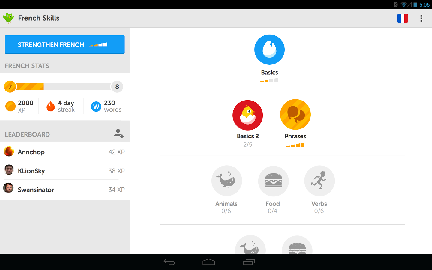 best free learn spanish app android