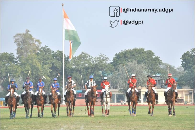 61 Cav #IndianArmy won the prestigious National level Sawai Man Singh Gold Vase by defeating Jindal Polo team by 6 goals to 2 in http://finals.pic.twitter.com/54AsVFAbAI #IndianArmy #Army
