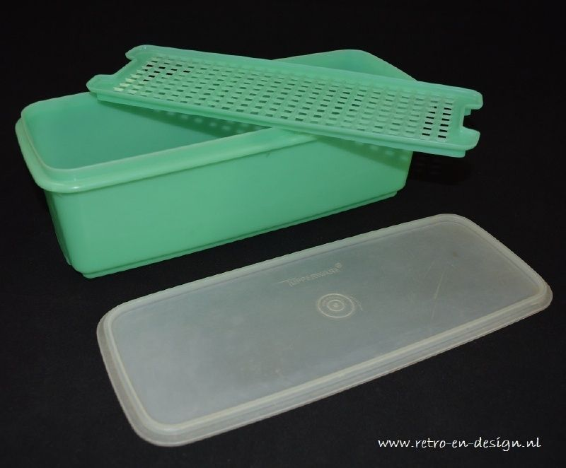 1950 39 s tupperware grande boite tupperware rectangulaire grande boite tupperware vintage