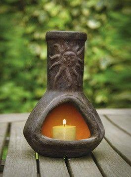 Delightful Candle Chiminea