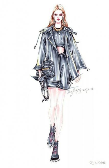 Photo of 24+ Trendy Fashion Illustration Sketchbook Watercolour