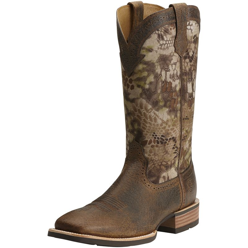 Men's Ariat Quickdraw Earth Kryptek Highlander 13