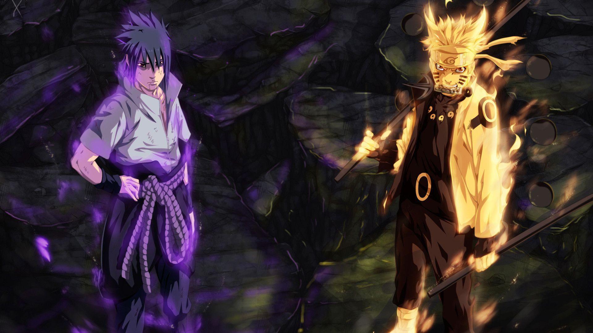 1920x1080 Naruto Vs Sasuke Wallpaper 57 Images Saske Anime Personagens De Anime