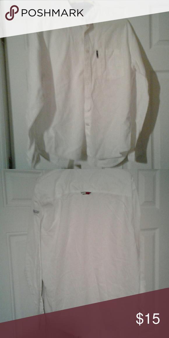 Mens Hilfiger Button Down Hilfiger Casual Button Down Shirts Casual Shirts