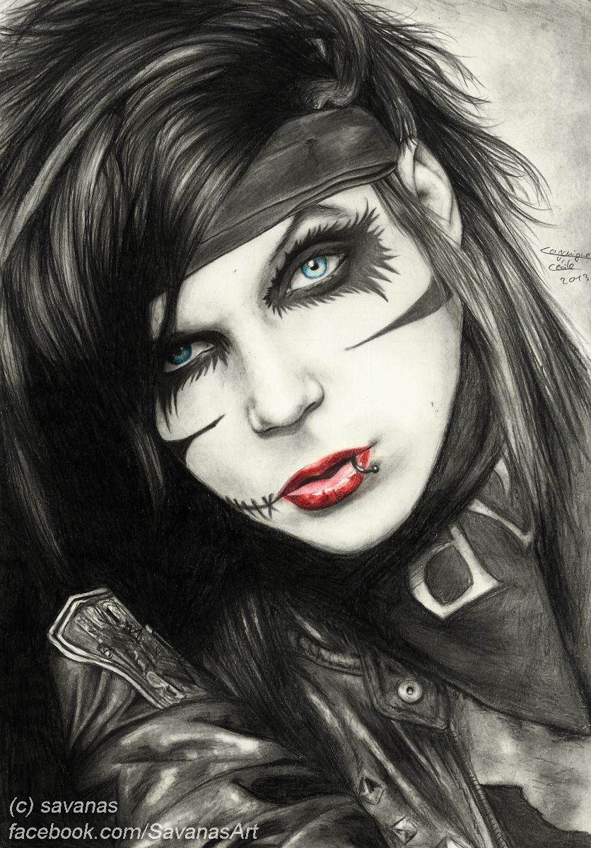 Andy Biersack By Savanasart On Deviantart Black Veil Brides Andy Andy Biersack Andy Biersack Makeup