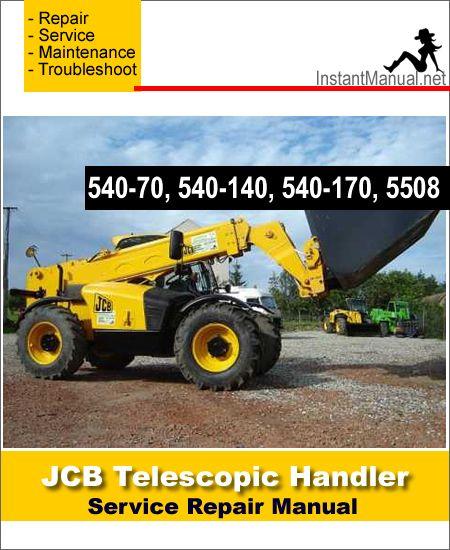 Download JCB 540-70 540-140 540-170 5508 Telescopic Handler ... on