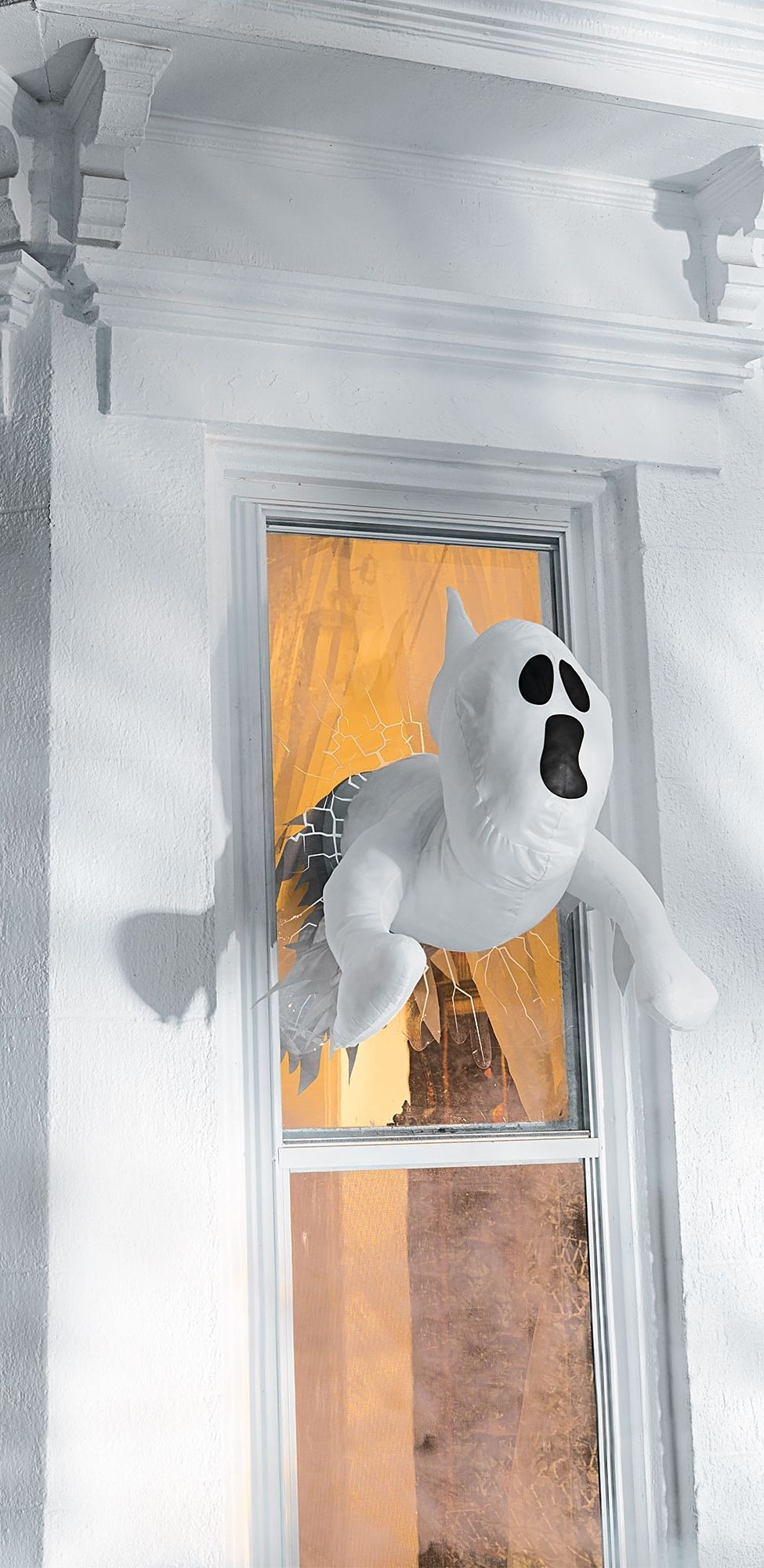 Take your spooky décor to a whole new dimension, with Window Crasher ...