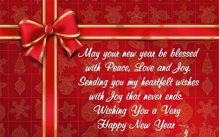 blessings in the new year 2015 may your new year be blessed with peace