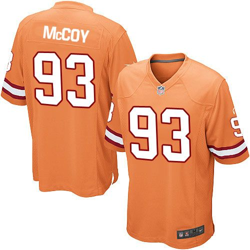nike limited gerald mccoy orange youth jersey tampa bay buccaneers 93 nfl alternate