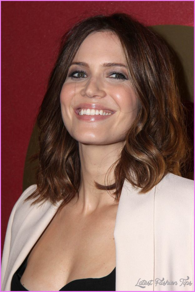 Nice Medium To Long Haircuts For Round Faces Latestfashiontips