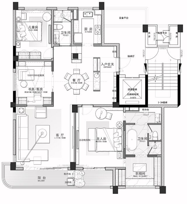 Apartment layout floor plans town house elevation plan design interior garage apartments architecture autocad also pin by  yb on pinterest interiors and rh