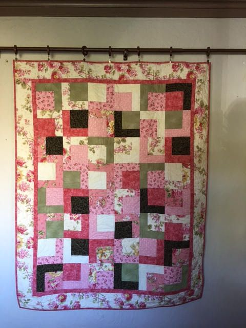 Rose Quilt, Quilts for Sale, Handmade Quilts, Girls Quilts, Lap ... : floral quilts for sale - Adamdwight.com