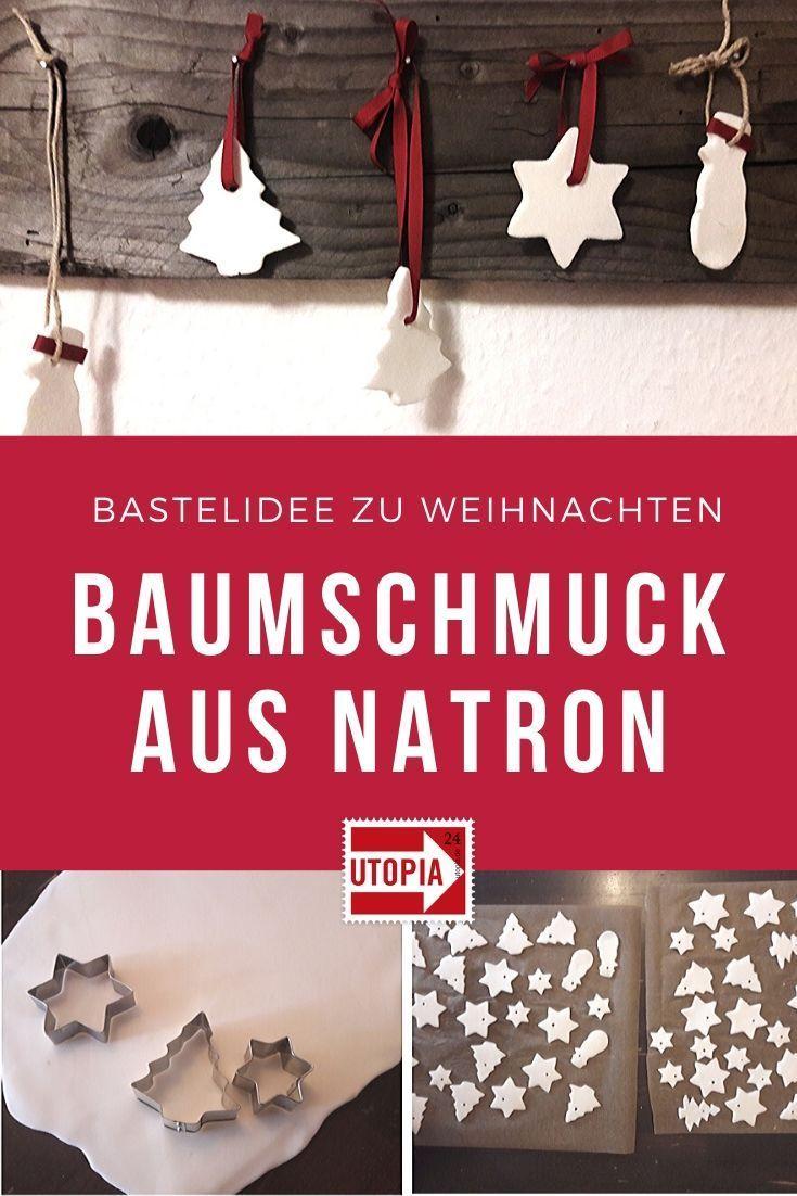 Photo of Einfache Bastelidee zu Weihnachten: Baumschmuck aus Natron und Speisestärke