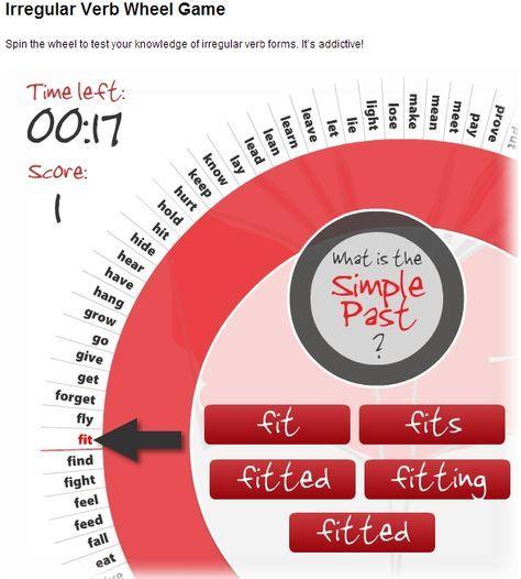 practicar los irregular verbs   educacion   Pinterest