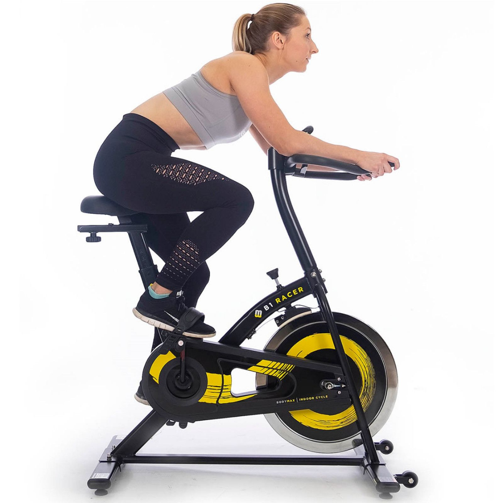 Bodymax B1 Racer Indoor Cycle Exercise Bike Biking Workout