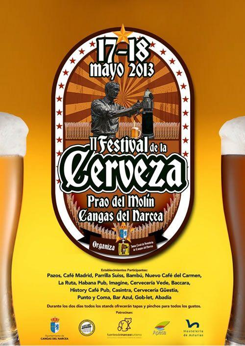 Ii Festuvak De Ka Cerveza En Cangas Del Narcea Asturias Festival De La Cerveza Cerveza Cerveceria