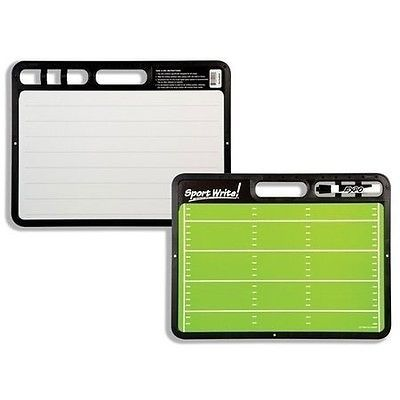Other Football Clothing and Accs 74676: Sport Write Pro Football Coaching Board, New BUY IT NOW ONLY: $34.95