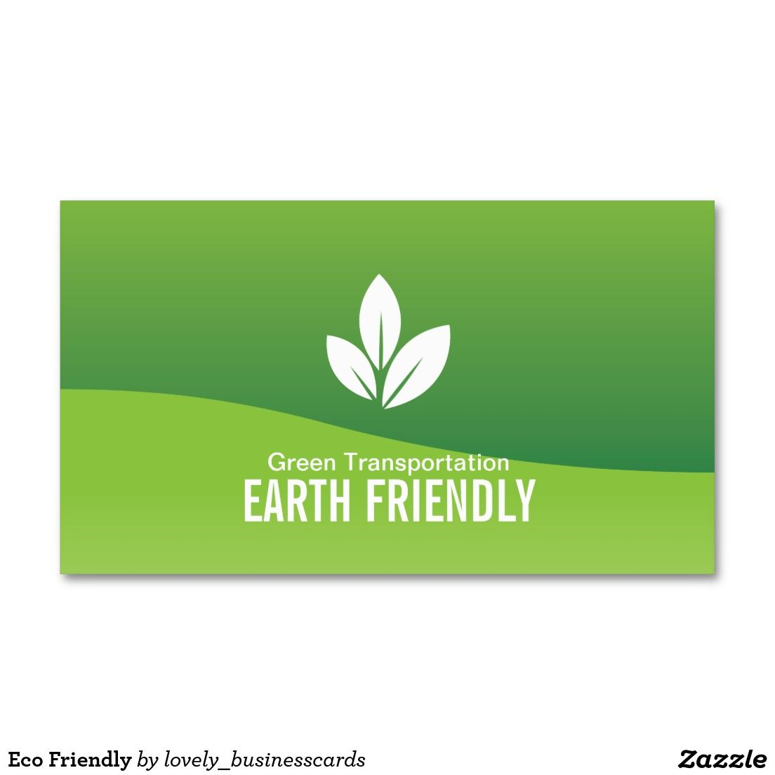 Eco Friendly Business Card | Business cards, Business and Support ...