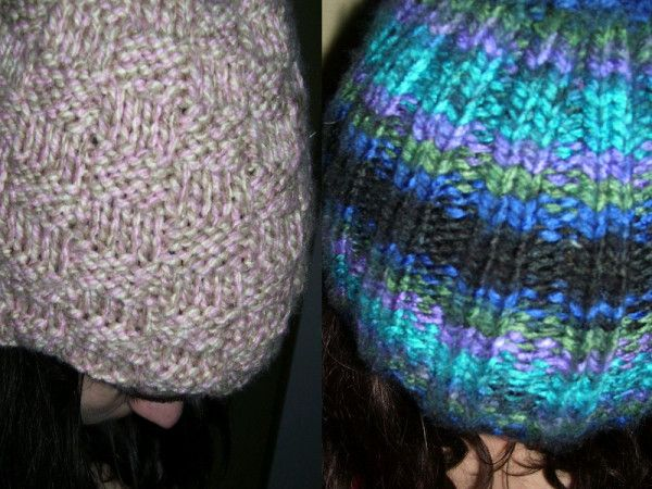 Knitted Hats Tutorial on Straight Needles (With images ...