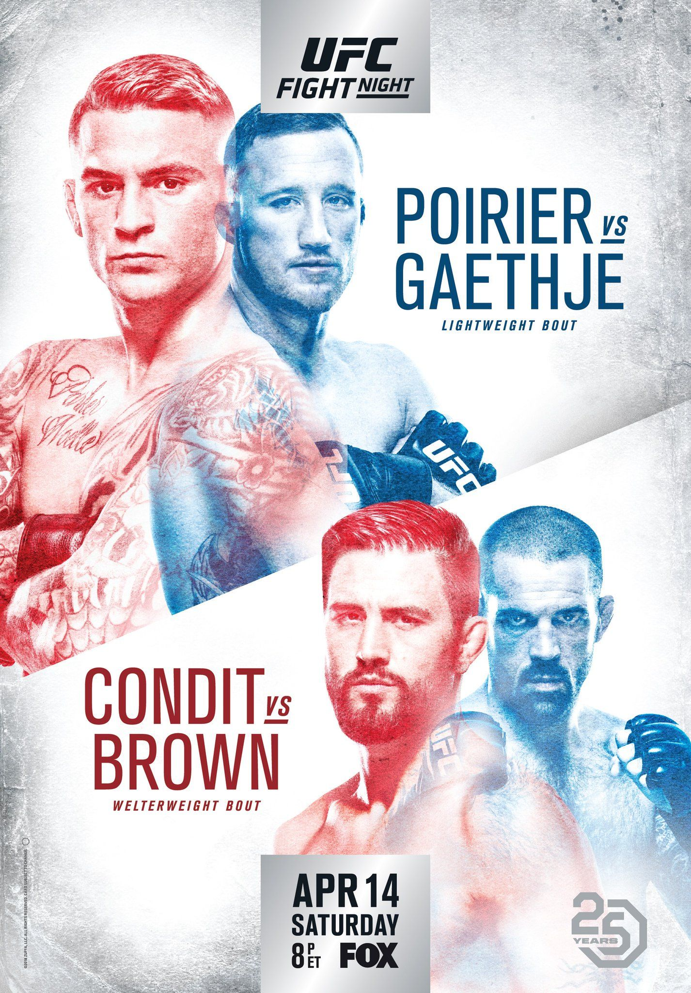 Check Out The Official Posters For Ufc 222 And Ufc Glendale Ufc