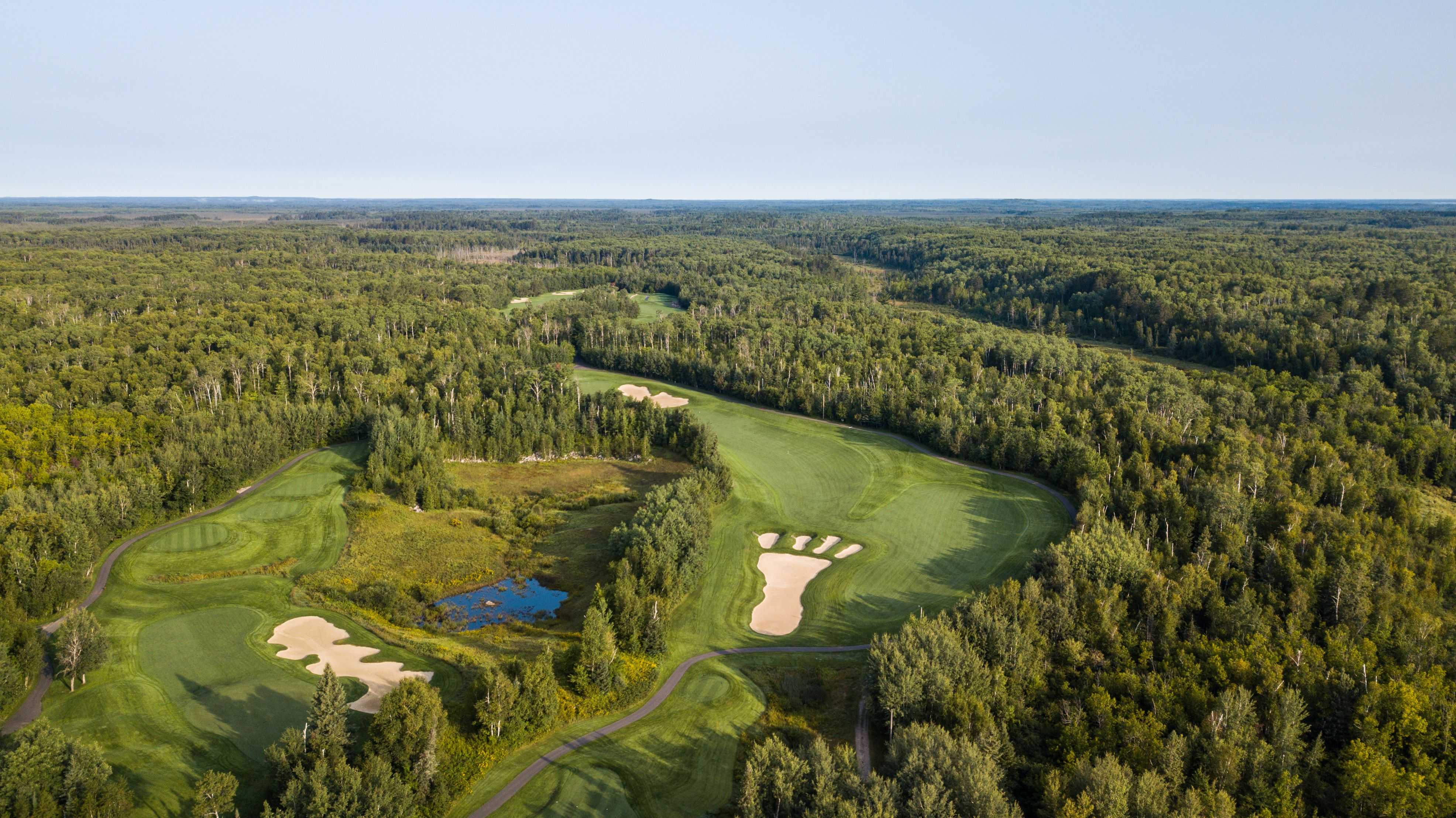 Overview Of The Golf Course At Giants Ridge Golf Courses Family Vacation Destinations Vacation Destinations