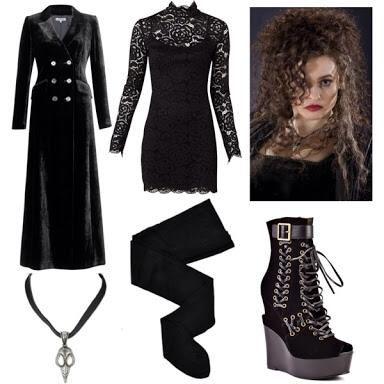 Can harry potter bellatrix lestrange costume with