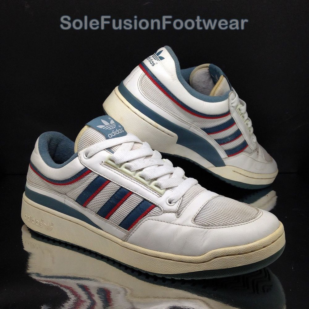 adidas Originals Mens Ivan Lendl Trainers sz 10 Comp VTG