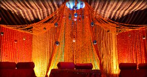 Stage Decoration With Marigold Flowers Valoblogi Com