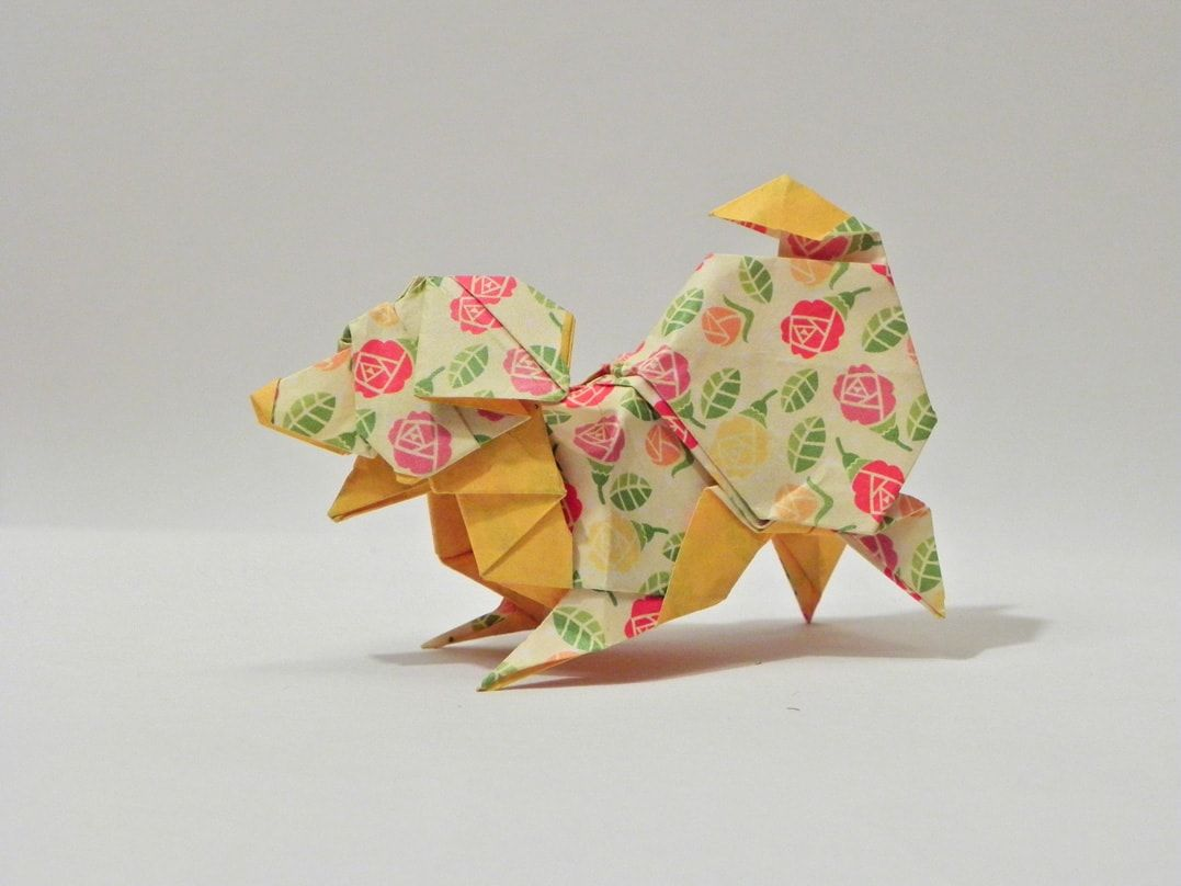 Chinese New Year 2018 Origami Dog Extravaganza Dollar Bill Origami Origami Christmas Star Origami