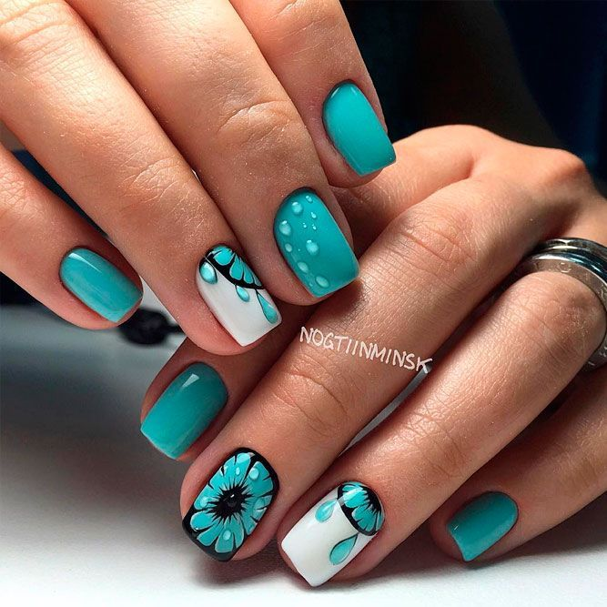 27 Lovely Nail Designs For Summer 2018 | Summer, Manicure and Easy ...
