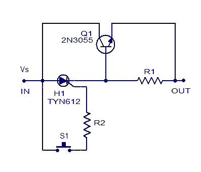 Description This Is Perhaps One Of The Simplest Electronic Fuse Circuit One Can Make The Circu Simple Electronic Circuits Electronics Circuit Circuit Diagram